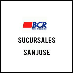 Banco bcr sucursales san jose tel fono y horarios for Horario sucursales