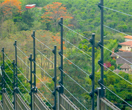Foto de una Instalacion de cercas electricas