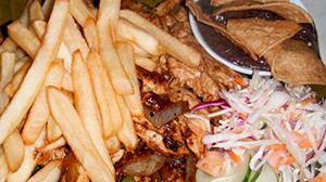 Foto de las fajitas del Restaurante El Campecino en la Aurora de Heredia