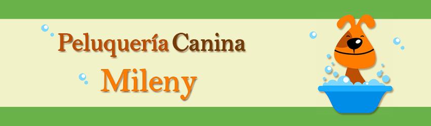 Logo Peluquería Canina Mileny