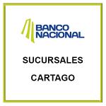 Información de las Sucursales y Horarios del Banco Nacional en Cartago