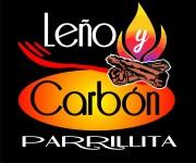 Logotipo del Restaurante Leño y Carbón