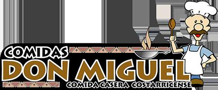 Logotipo Comida casera Don Miguel