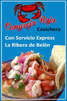 Cevichera en San Antonio de Belén
