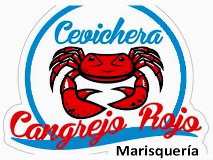 Logo de la cevichería Cangrejo Rojo