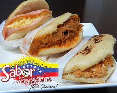 Foto de unas deliciosas Arepas Venezolanas