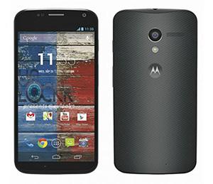 Foto de un celular Motorola