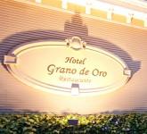 Entrada al Hotel Grano de Oro
