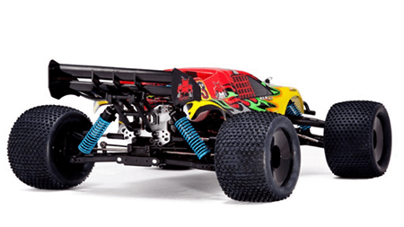 Picture of Redcat-Racing-Monsoon-XTR-Nitro-Truggy,-RedYellow,-18-Scale