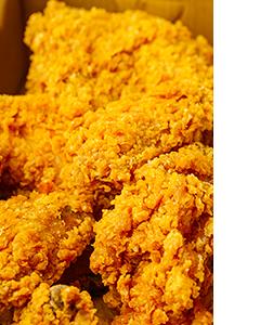 Delicioso pollo frito EXPRESS