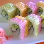 Foto de un plato de sushi del restaurante Goyi en Tibas