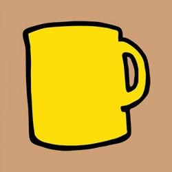 Cafe Organico Taza Amarilla