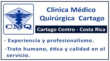 Publicidad para la Clínica Médico Quirúrgica Cartago