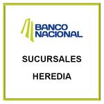 Sucursales BN Heredia