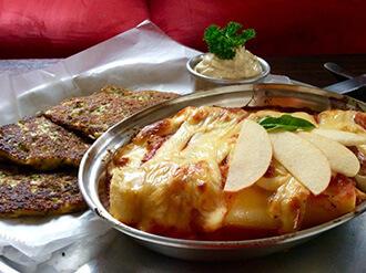 Foto de un platillo preparado en Cafe de los Deseos